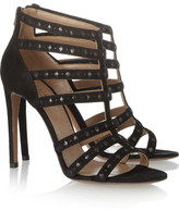 Alaia Suede and leather sandals
