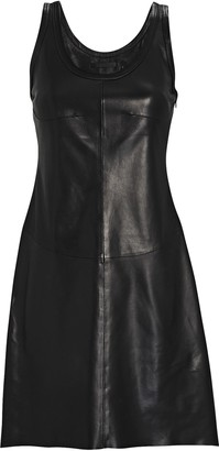 Helmut Lang Leather Tank Dress