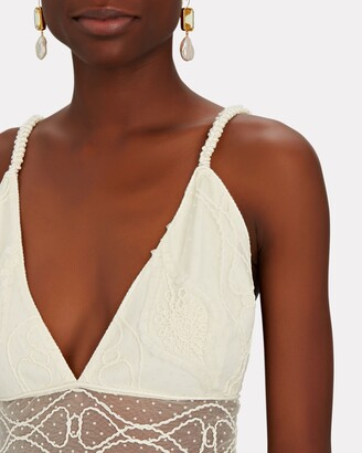 Alexis Arabella Embroidered Lace Maxi Dress