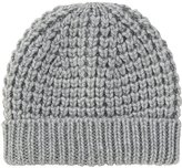 Uniqlo Women Low Gauge Knit Beanie (Waffle)