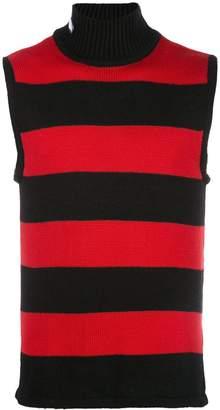 Anton Belinskiy striped knit vest