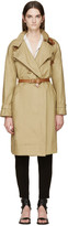 Isabel Marant Beige Canvas Hanya Trench Coat