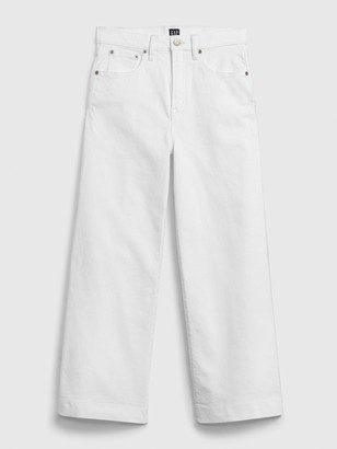 Gap High Rise Wide-Leg Ankle Jeans