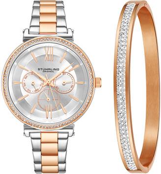 Stuhrling Original Women's Symphony Watch & Bracelet