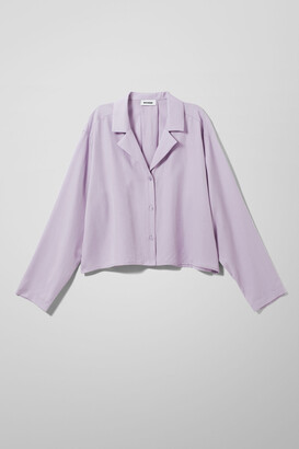 Weekday Filippa Blouse - Purple