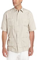Cubavera Men's Embroidered Guayabera Shirt