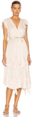 Ulla Johnson Abella Dress in Pearl | FWRD
