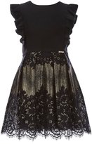 Marciano Big Girls 7-16 Metallic Lace Dress