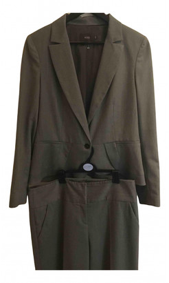 Reiss Brown Wool Jumpsuits
