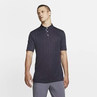 Nike Men's Plaid Golf Polo Dri-FIT Player