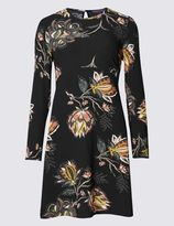 Marks and Spencer Floral Print Fit & Flare Dress