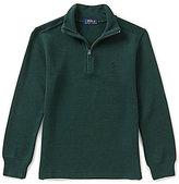 Ralph Lauren Big Boys 8-20 Long-Sleeve Knit Half-Zip