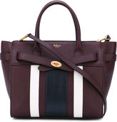 Mulberry stripe panel shoulder bag