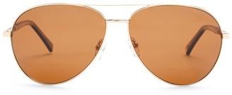 Ted Baker 62mm Aviator Sunglasses