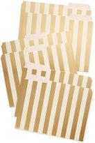 Kate Spade 6-Pack Metallic-Stripes File Folders