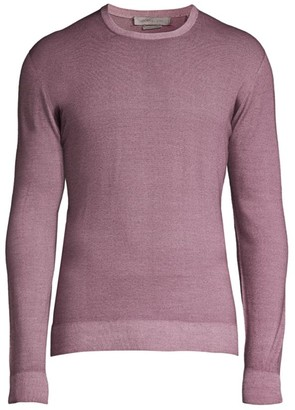 Corneliani Tubular Crewneck Sweater