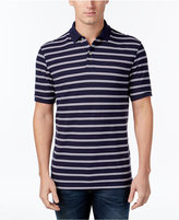 Club Room Men's Performance Striped Polo, Only at Macy's