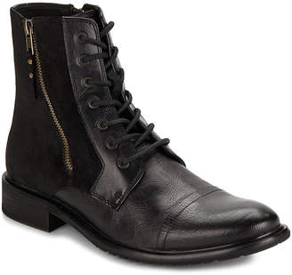 Kenneth Cole Reaction Side-Zippered Leather Boot