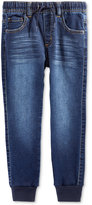 Epic Threads Knit Denim Jogger Pants, Toddler Boys (2T-4T) & Little Boys (2-7), Only at Macy's