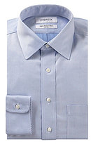 Daniel Cremieux Non-Iron Fitted Classic-Fit Spread-Collar Herringbone Dress Shirt