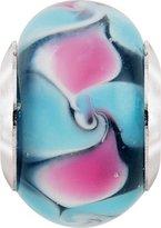 Persona Italian Glass Petal Play Charm fits Pandora, Troll & Chamilia European Charm Bracelets