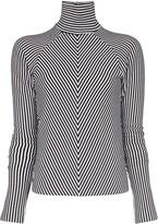 Haider Ackermann striped turtleneck jumper