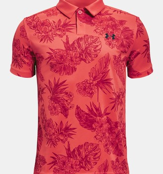 Under Armour Boys' UA Performance Floral Polo