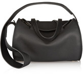 The Row Drum Textured-Leather Shoulder Bag