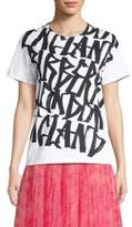 Burberry Cimarron Logo T-Shirt with Woven Back