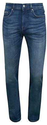 HUGO BOSS Delaware Slim-Fit Stretch Denim Jeans