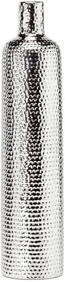 Torre & Tagus Helio Hammered Ceramic 19.5In Tower Bottle Vase