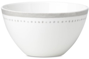 Kate Spade Charlotte Street West Grey Collection Soup/Cereal Bowl