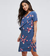 Mama Licious Mama.licious Mamalicious Nursing Floral Printed Double Layer Dress