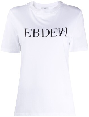 Erdem Hettie logo print T-shirt