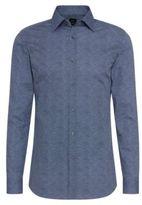 Hugo Boss T-Shane Slim Fit, Italian Cotton Dress Shirt 14.5Blue