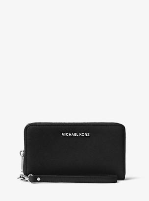 MICHAEL Michael Kors MK Travel Smartphone Wristlet - Black - Michael Kors