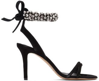 Isabel Marant Black Alrina Heeled Sandals