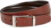 Canali Woven Leather Belt