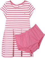 Ralph Lauren Striped cotton-blend dress and under shorts 3-24 months