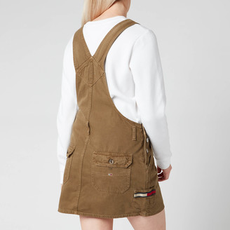 Tommy Jeans Women's Dungaree Dress