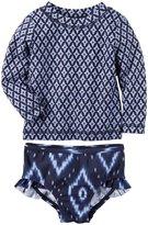 Carter's 2 Piece Swim Suit (Baby) - Navy - 3 Months