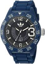 adidas Men's 'Newburgh' Quartz Plastic and Silicone Casual Watch, Color: (Model: ADH3141)