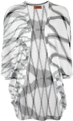 Missoni Flamed Open Front Long Top