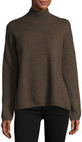Vince Turtleneck Sweater, Dark Brown