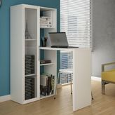 Manhattan Comfort Asti Smart Desk in White