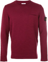 Stone Island pocket detail jumper