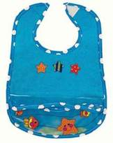 Sassy Ez Clean Pocketed Feeding Bib