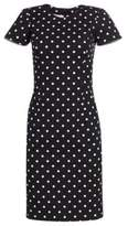 Carolina Herrera Icon Collection Polka Dot Cotton Dress