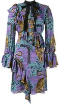 Gucci Bengal Tiger print dress - women - Silk/Cotton/Spandex/Elastane/Viscose - 40