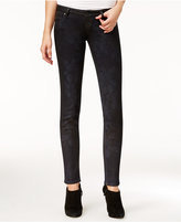 GUESS Ultra-Low Cherry Blossom Wash Skinny Jeans